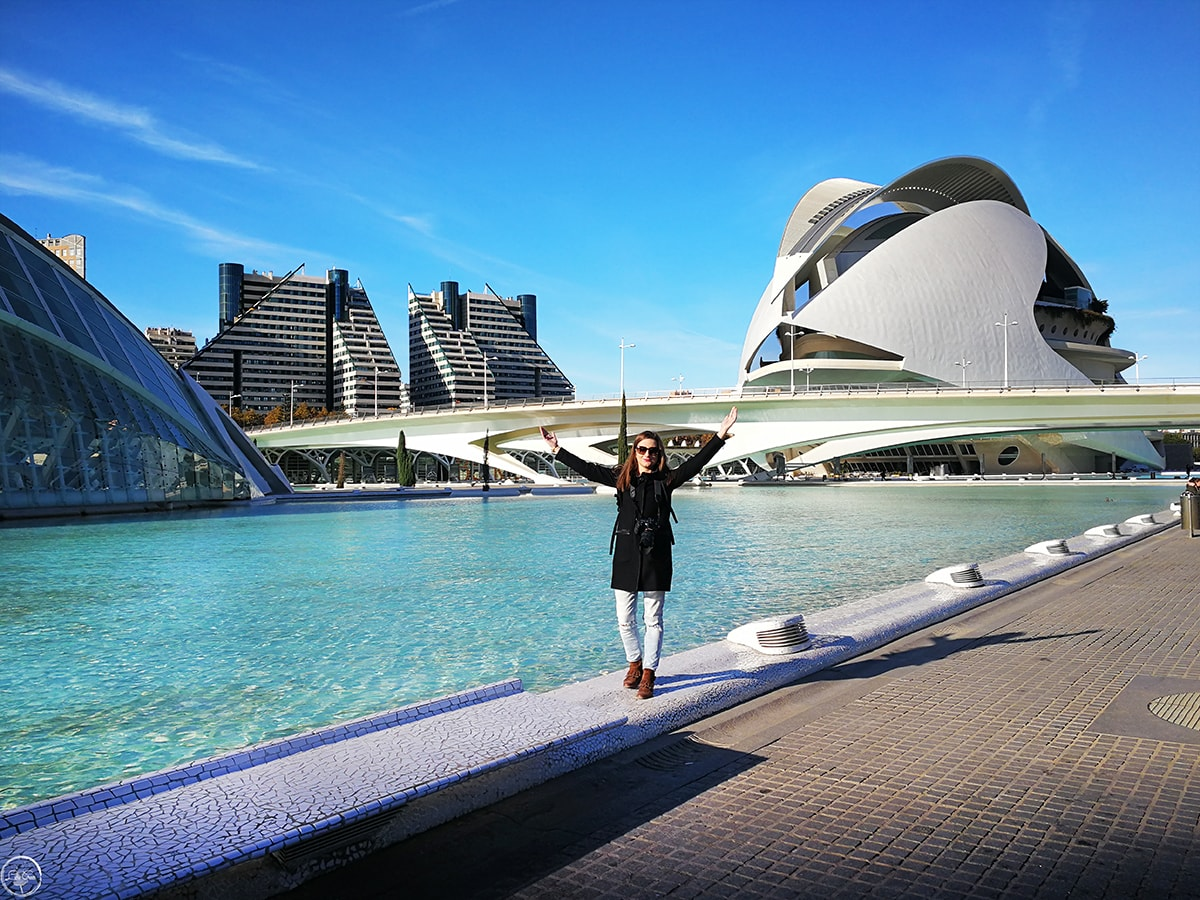 The City of Arts and Science, Valencia, Spain