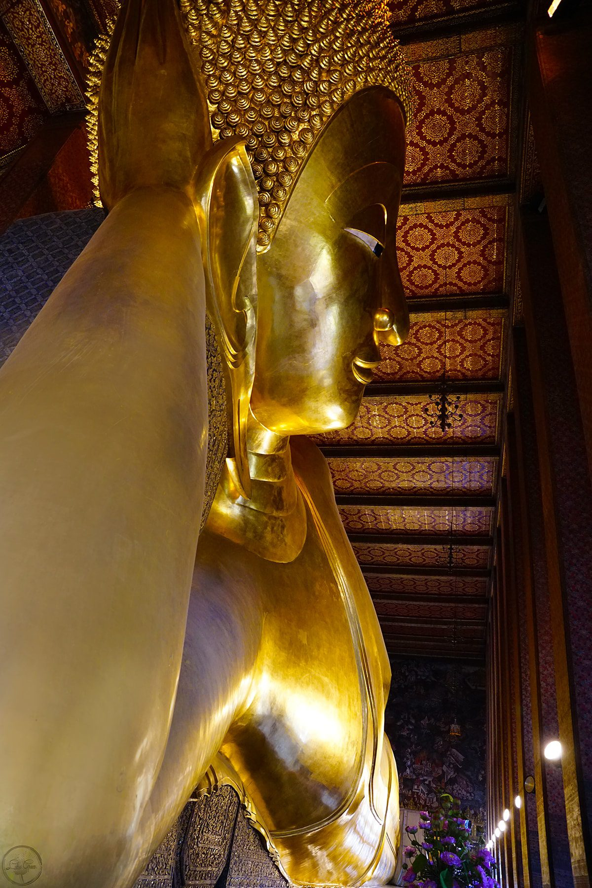 The Reclining Buddha, Wat Pho