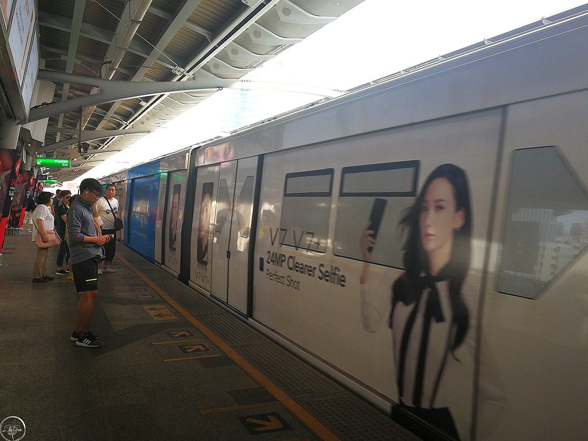MRT and Skytrain Bangkok