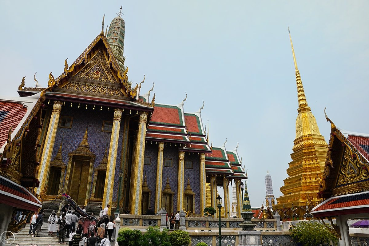 The Temple of Emerald Buddha, The Grand Palace, Bangkok