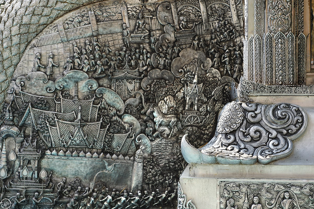 The Silver Temple in Chiang Mai