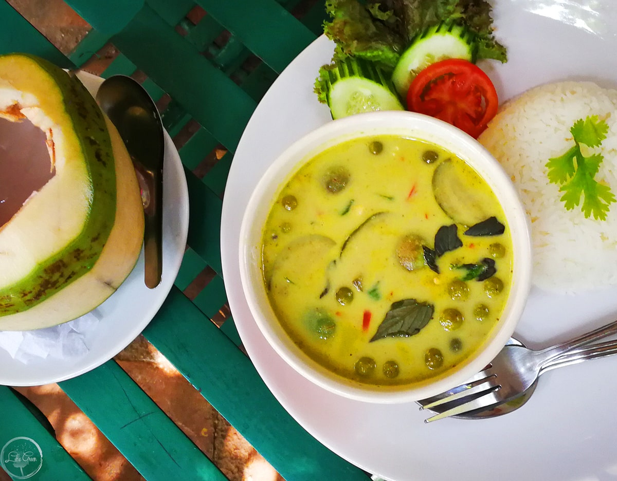 The best Green Curry Soup is Miranda's Cafe, Chiang Mai