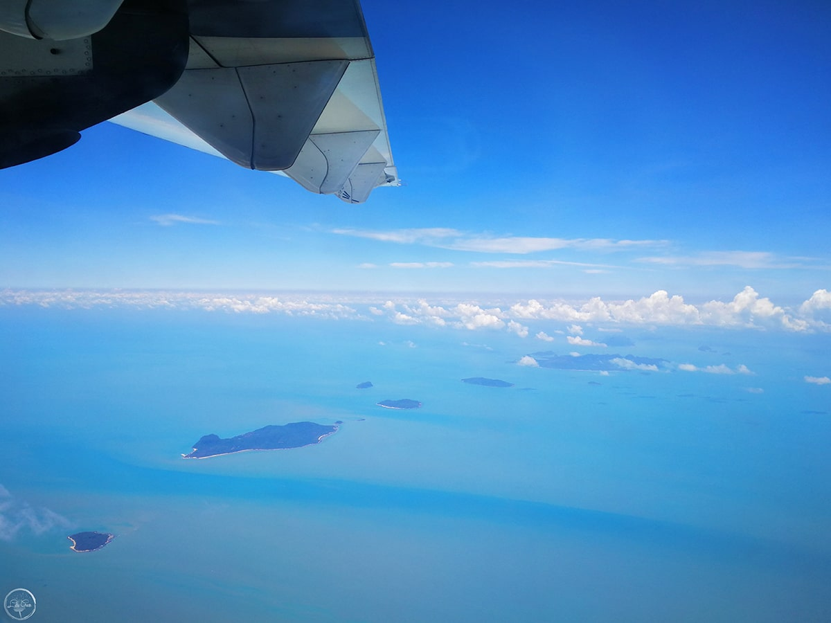 Gulf of Thailand from Above