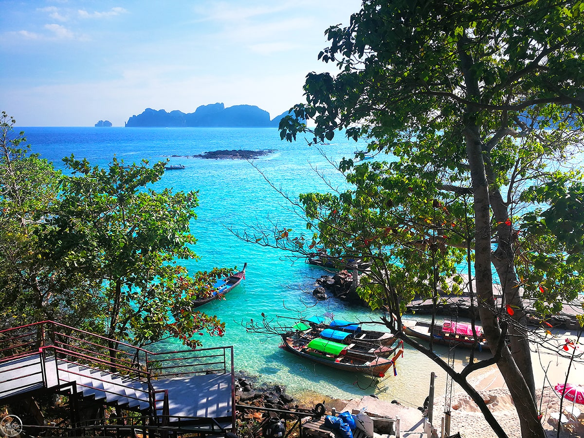 View from HIP Seaview Resort @ Phi Phi