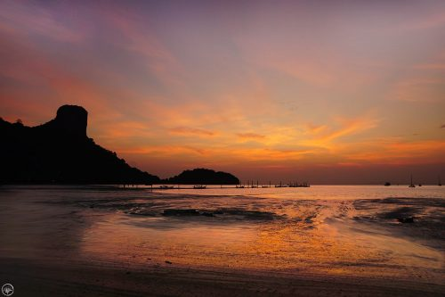 Sunrise Railay Beach, Thailand