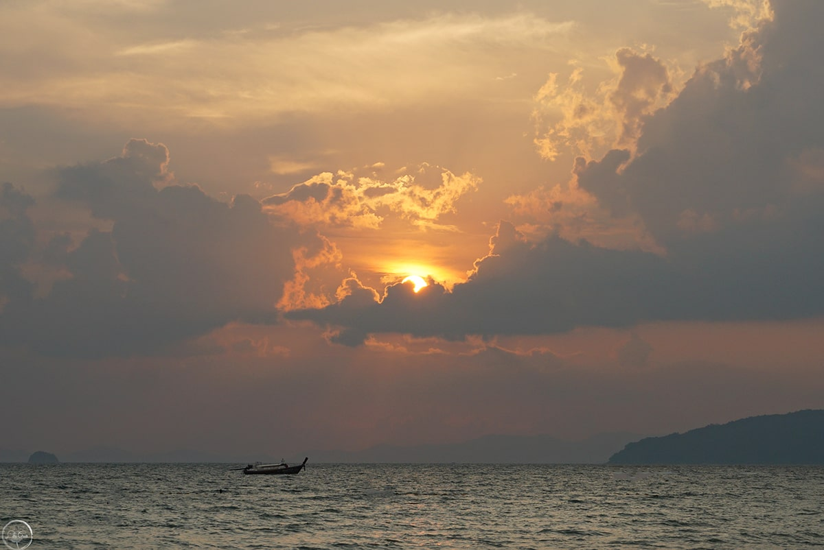 Sunset Railay Beach, Thailand