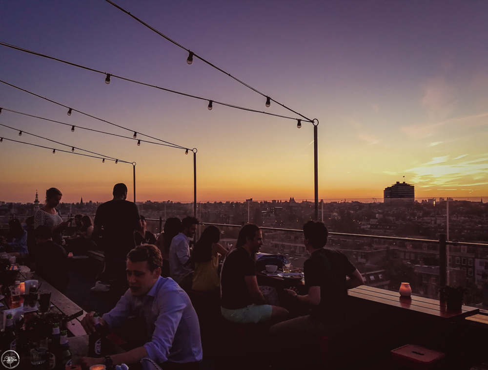 Canvas Rooftop Bar, Amsterdam