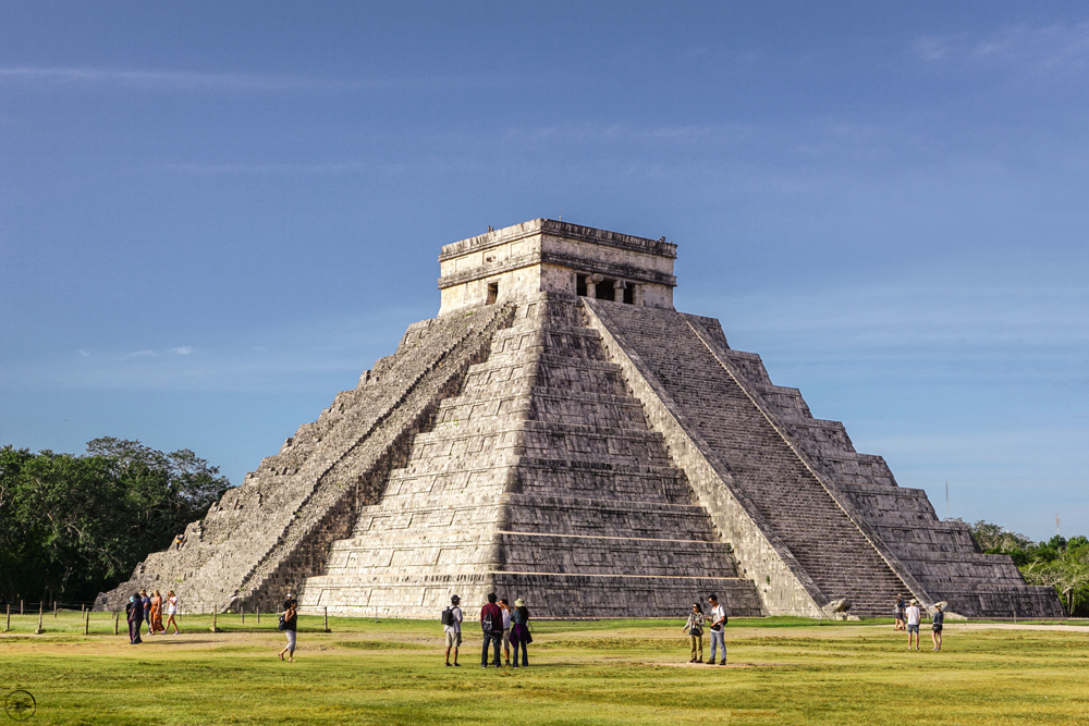 Visiting Chichen Itza, Temple of the Warriors