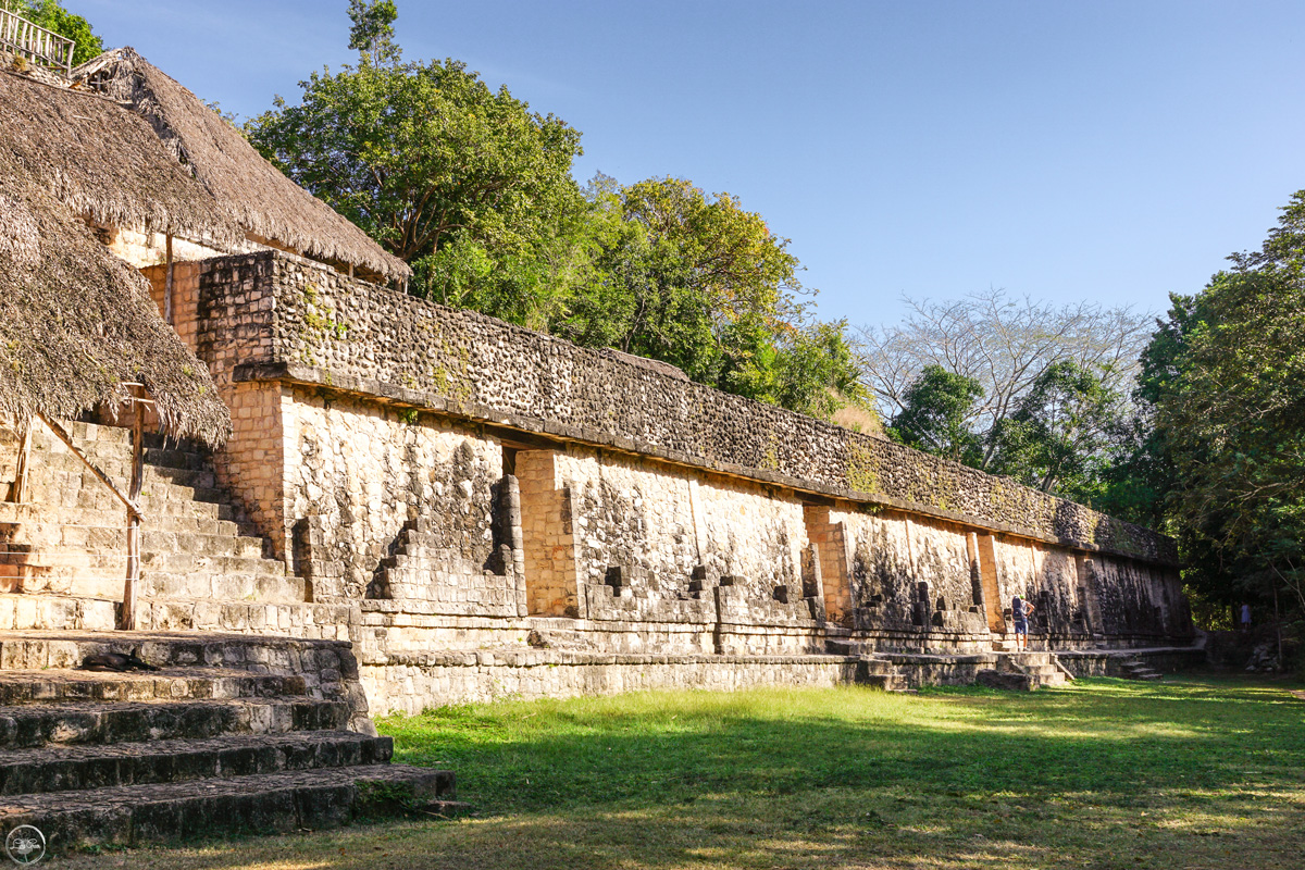 Visiting Ek' Balam in Yucatan, Mexico