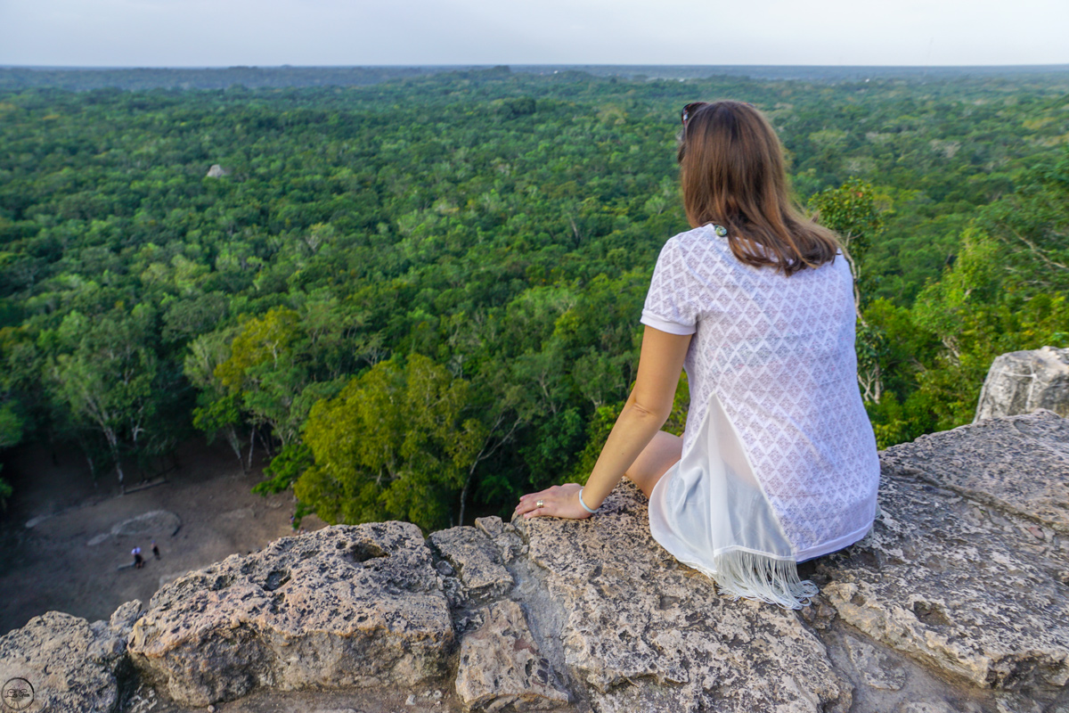 Visiting Coba in Yucatan, Mexico