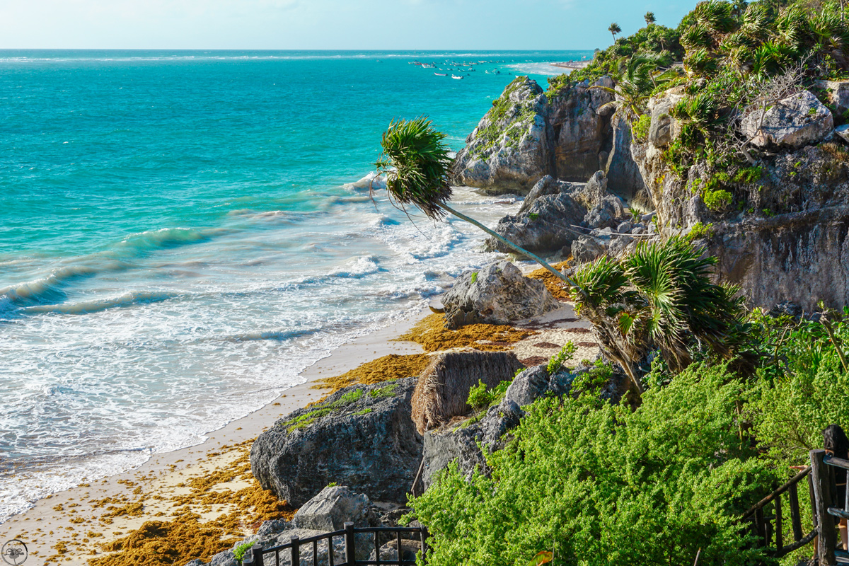 Visiting The Ruins of Tulum, Mexico