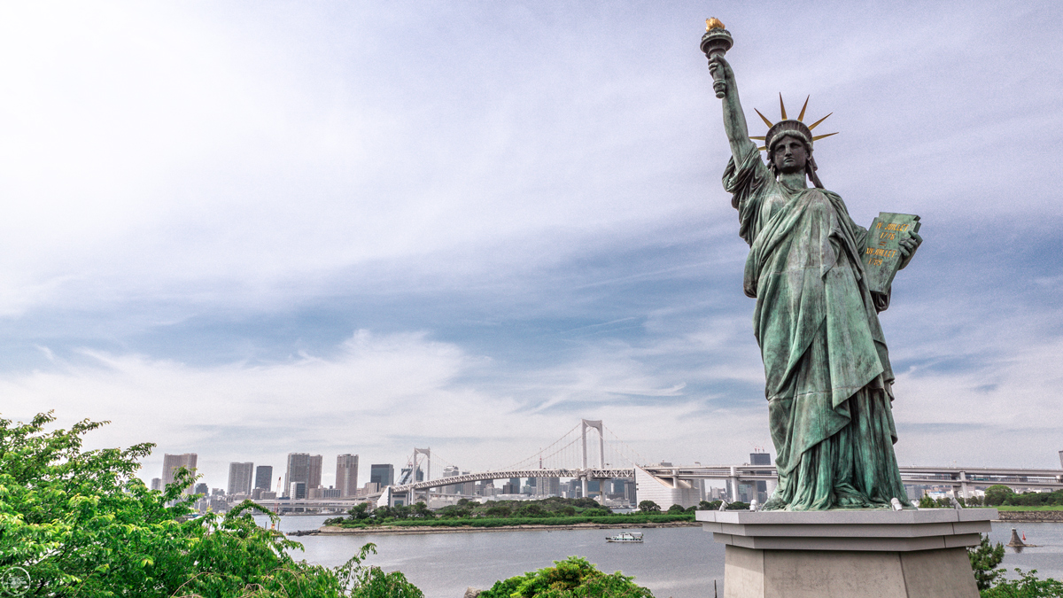Odaiba, Statue of Liberty