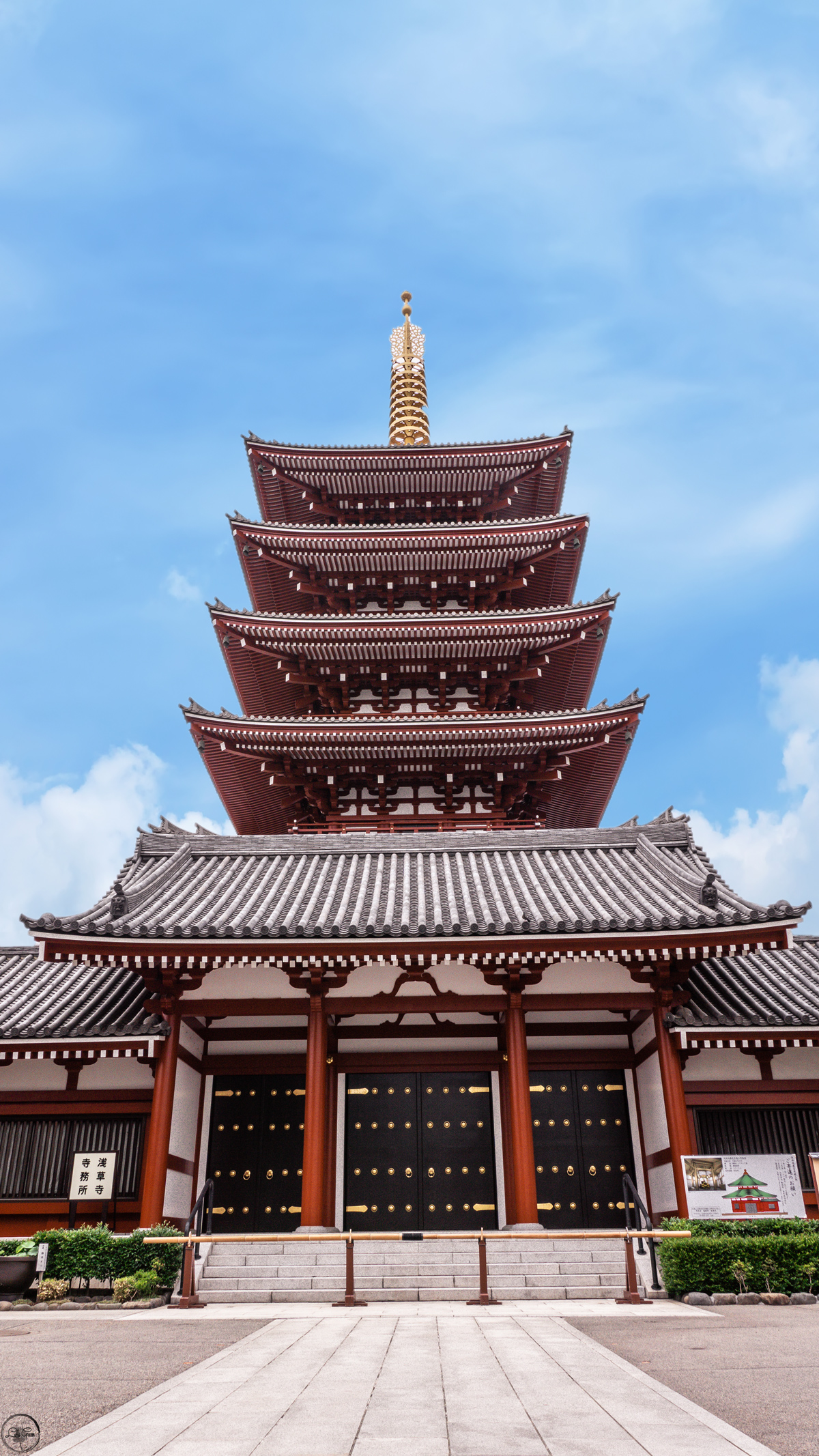 The Five Storied Pagoda of Senso Ji