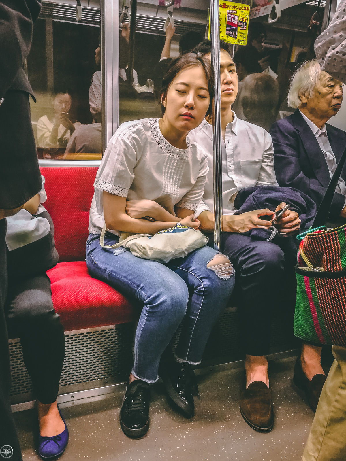 The Sleeping people of Tokyo