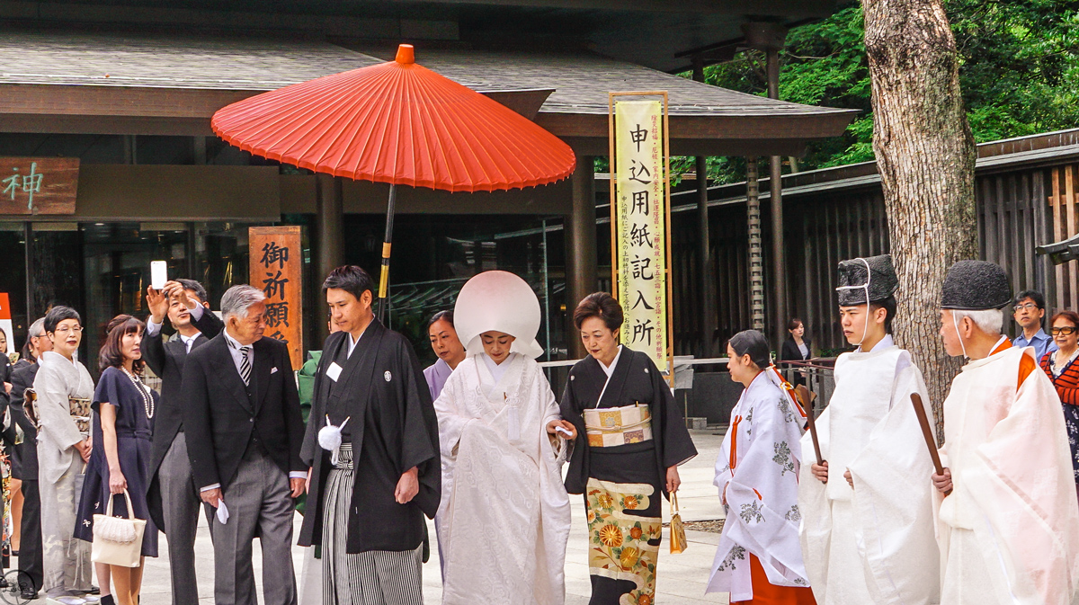 Wedding, Meiji Temple