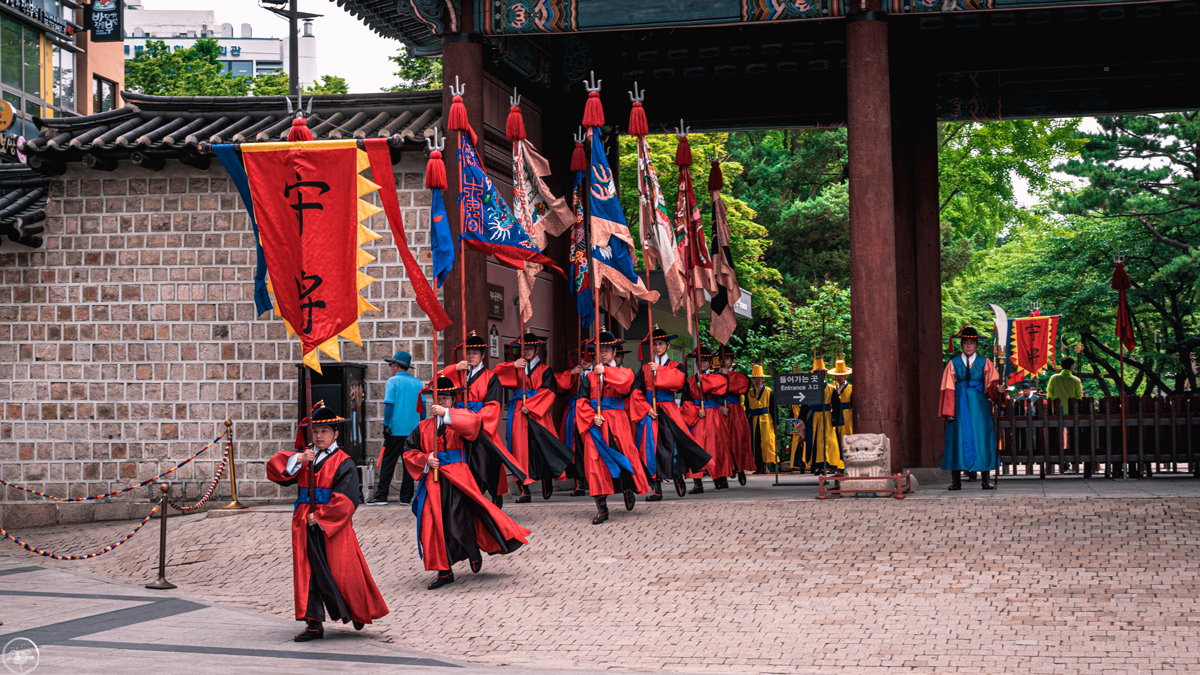Royal Guard Changing Ceremony, Seoul