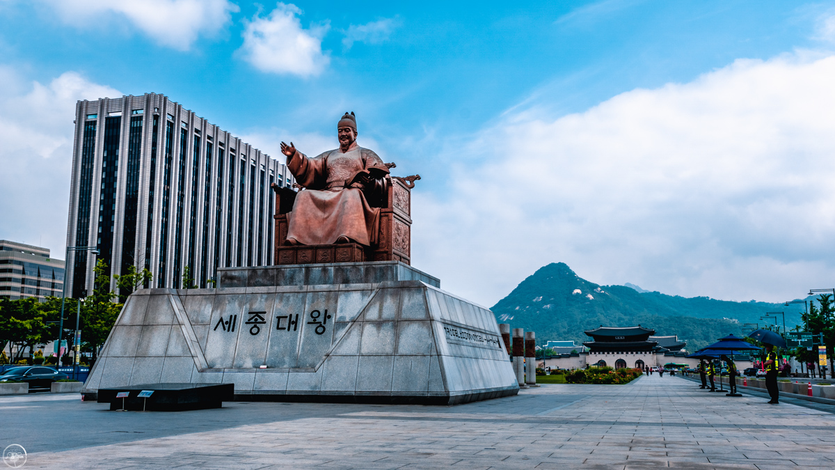 Statue of King Sejong, Seoul 2
